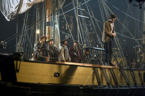 6x03: Why did the pirates threaten to kill the Doctor, Amy and Rory?