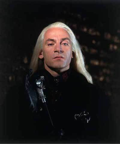 Lucius Malfoy is Draco's...