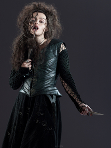 Bellatrix Lestrange is Draco's...