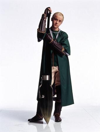 Draco attained the position of ...... on the Slytherin Quidditch team.