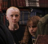 Hermione suspected that Draco might be the Heir of Slytherin.