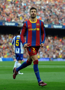 Where did Gerard Piqué play before he returned to the club?