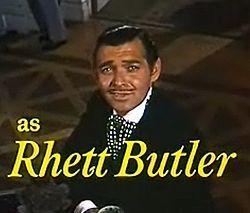 That's Rhett Butler. He's from Charleston. He has the most ________ reputation.