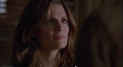 What Moments Does Castle Mention to Beckett while They're Arguing in the Season Finale ?