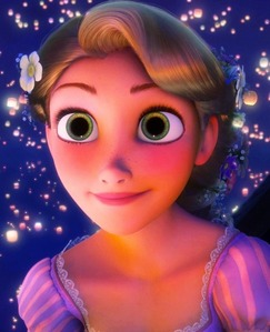 Which singer turned actress voices Rapunzel