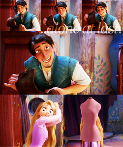 What is Flynn Rider's real name in the movie Tangled.