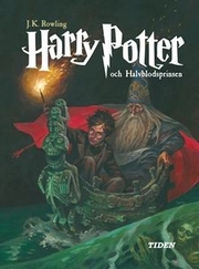 How many pages has the Swedish copy of 'Harry Potter and the Half-Blood Prince'?