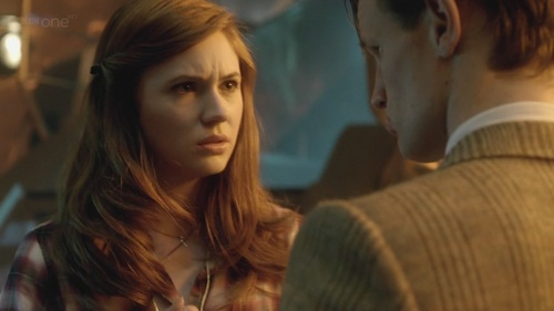 In 'Day Of The Moon' why was the Doctor so concerned over Amy?