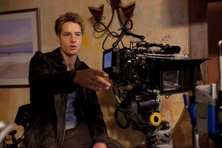 Justin Hartley directed one episode in Smallville, what episode?