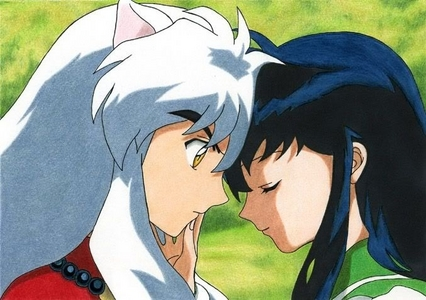 Which episode did Inuyasha first tried to kiss kagome??