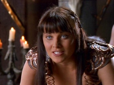 What did Xena want in return for making Mezentius an offer and giving him some advice?