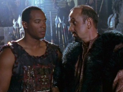 How did Mezentius call Xena in a conversation with Marcus?