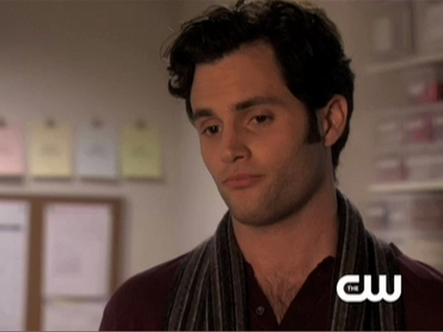 Dan makes this face right after Blair says...