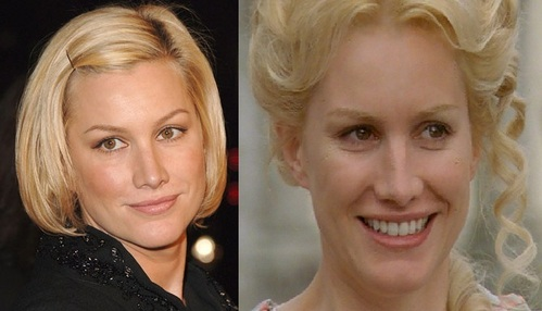 The actor Alice Evans, who plays Catharine Kennedy is the wife of which Welsh actor?