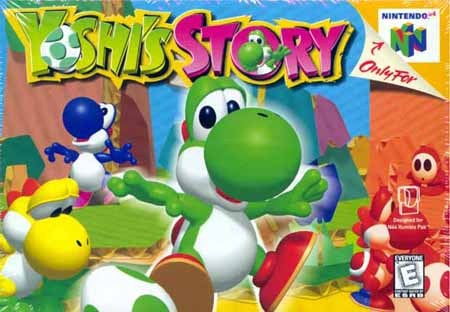 What tahun does Yoshi created