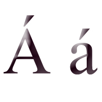 In what language does that letter NOT occur?