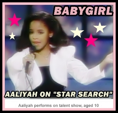 what was the song aaliyah sang on star search