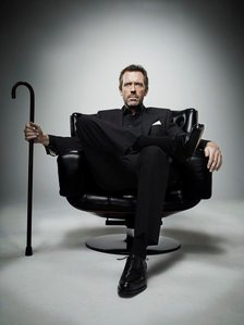 """House- """"I take risks. Sometimes patients die. But not taking risks causes और patients to die, so I guess my biggest problem is I've been cursed with....."""""""