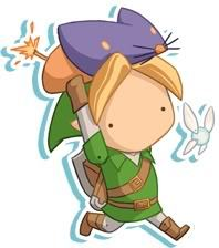 ITEMS - It works similar to the boomerang in a way. Once Link equips it  he can trace a path where he wants it to travel