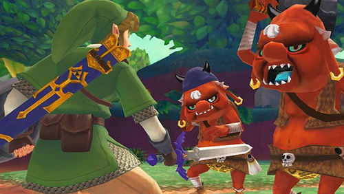 When they detect Link's presence, they will sprint towards him and strike at him with their small swords.