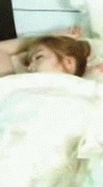 When she is sleeping, Jessica....