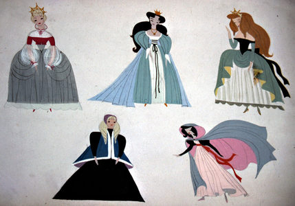 This concept art is of what Disney Princess? 