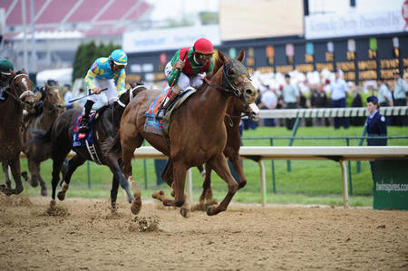 What was Animal Kingdom's winning time at the 137th Kentucky Derby?