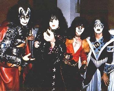 What year did Eric join Kiss?
