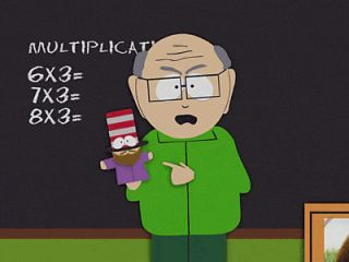 What is Mr. Garrison's first name?