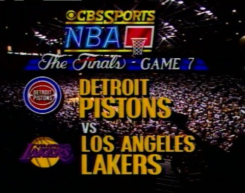 Which Laker registered a triple-double in Game 7 of the 1988 NBA Finals against the Detroit Pistons?