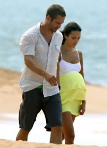 In Fast Five, when did Mia tell Brian she was pregnant?