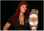 "True or False! Amy ""Lita"" Dumas is the only diva to win the WWE Women's championship twice in the main event of Raw."
