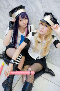 What Anime are these two cosplaying as?