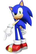 How is Sonic acted out?