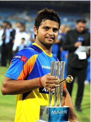 Which team in the IPL did Raina get a 73* and man of the match ?