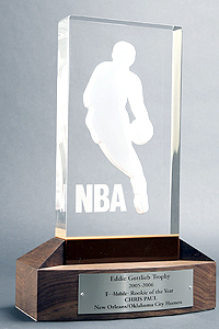 Who is the only Laker to have won the NBA Rookie of the año Award?