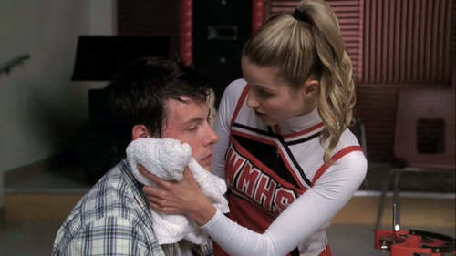 In Which Episode: Finn: Why are you storming? I'm the one who should be storming. Quinn: Really? Because the way I see it, I'm the stormer and you should be the stormee!