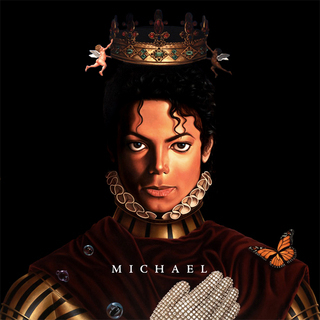 Which song from the 2010 album, Michael, is NOT an outtake from the Invincible Era.