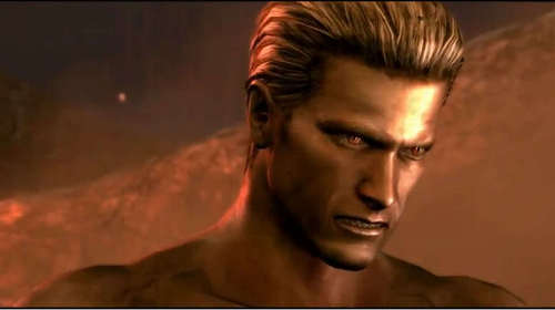 "To who did Albert Wesker say ""You're comming with me"" to?"