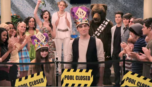 The ending of 'Big Time Pranks' is a parody to which movie?