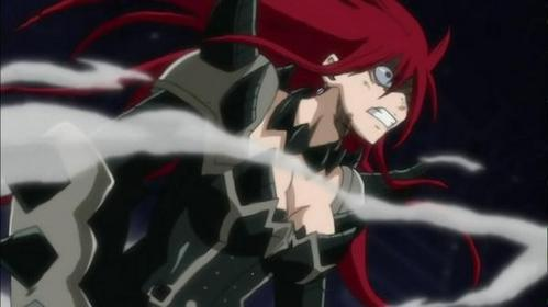 What is the call of the wear of Erza?