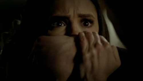 """And 'Never' for a vampire is a very long time"".Who tells Damon that Elena will never forgive him?"