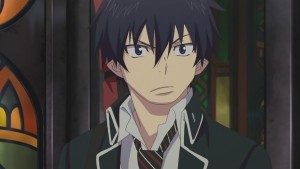 Who voiced Rin Okumura in the Anime?