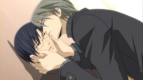 Junjou Romantica manga&anime : They've slept together...