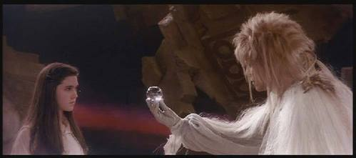 Which of these is the direct quote of the last line that Jareth the Goblin King says to Sarah?