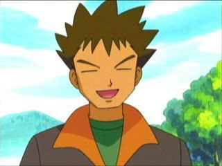 Brock's Japanese name is...