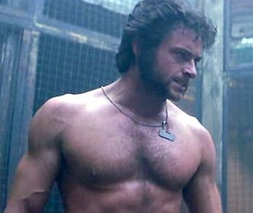 how sexy is wolverine?