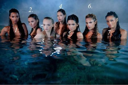 Which mermaid is Tamara?