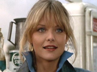 what was the charcters name of michelle pfeiffer's first starring film