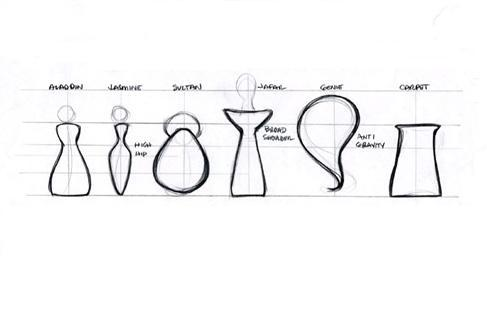 These are shapes of the main characters of what Disney Princess movie?